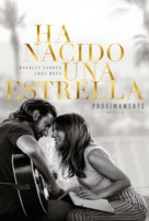 A Star Is Born - Spanish Movie Poster (xs thumbnail)