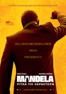 Mandela: Long Walk to Freedom - Finnish Movie Poster (xs thumbnail)