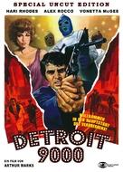 Detroit 9000 - German DVD cover (xs thumbnail)