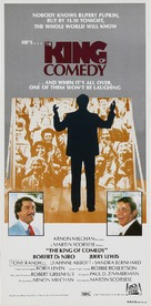 The King of Comedy - Australian Movie Poster (xs thumbnail)