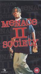 Menace II Society - British VHS movie cover (xs thumbnail)