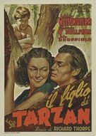 Tarzan Finds a Son! - Italian Movie Poster (xs thumbnail)