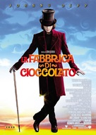 Charlie and the Chocolate Factory - Italian Movie Poster (xs thumbnail)
