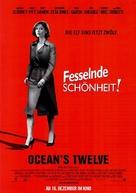 Ocean's Twelve - German Movie Poster (xs thumbnail)