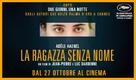 La fille inconnue - Italian Movie Poster (xs thumbnail)