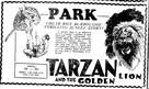 Tarzan and the Golden Lion - Movie Poster (xs thumbnail)