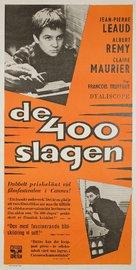 Les quatre cents coups - Swedish Movie Poster (xs thumbnail)
