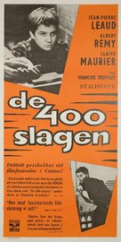 Les quatre cents coups - Swedish Movie Poster (xs thumbnail)