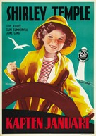 Captain January - Swedish Movie Poster (xs thumbnail)