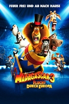 Madagascar 3: Europe's Most Wanted - German Movie Poster (xs thumbnail)