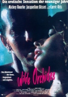 Wild Orchid - German Movie Poster (xs thumbnail)