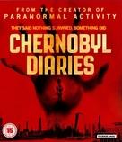 Chernobyl Diaries - British Blu-Ray cover (xs thumbnail)