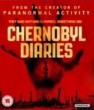 Chernobyl Diaries - British Blu-Ray movie cover (xs thumbnail)