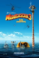 Madagascar 3: Europe's Most Wanted - Mexican Movie Poster (xs thumbnail)