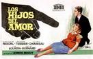 Les enfants de l'amour - Spanish Movie Poster (xs thumbnail)