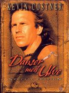 Dances with Wolves - Danish DVD cover (xs thumbnail)
