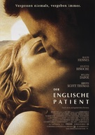 The English Patient - German Movie Poster (xs thumbnail)