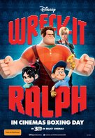 Wreck-It Ralph - Australian Movie Poster (xs thumbnail)