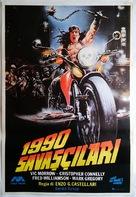 1990: I guerrieri del Bronx - Turkish Movie Poster (xs thumbnail)