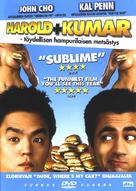 Harold & Kumar Go to White Castle - Finnish DVD movie cover (xs thumbnail)