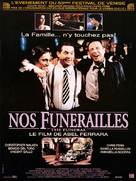 The Funeral - French Movie Poster (xs thumbnail)