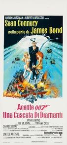 Diamonds Are Forever - Italian Movie Poster (xs thumbnail)