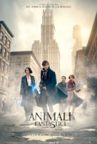 Fantastic Beasts and Where to Find Them - Italian Movie Poster (xs thumbnail)
