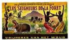 Les seigneurs de la forêt - Belgian Movie Poster (xs thumbnail)