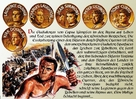Spartacus - German poster (xs thumbnail)
