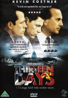 Thirteen Days - Danish DVD cover (xs thumbnail)