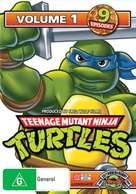 """Teenage Mutant Ninja Turtles"" - Australian DVD movie cover (xs thumbnail)"