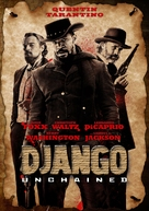 Django Unchained - DVD cover (xs thumbnail)