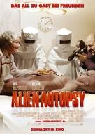 Alien Autopsy - German Movie Poster (xs thumbnail)