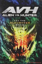 Alien vs. Hunter - DVD cover (xs thumbnail)