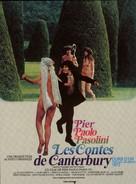 I racconti di Canterbury - French Movie Poster (xs thumbnail)