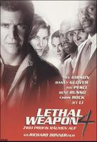 Lethal Weapon 4 - German DVD movie cover (xs thumbnail)