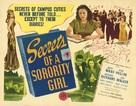 Secrets of a Sorority Girl - Movie Poster (xs thumbnail)