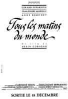 Tous les matins du monde - French Logo (xs thumbnail)