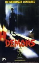 Demoni 2 - Austrian VHS cover (xs thumbnail)