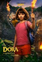 Dora and the Lost City of Gold - British Movie Poster (xs thumbnail)