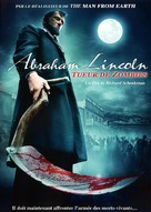 Abraham Lincoln vs. Zombies - French DVD movie cover (xs thumbnail)