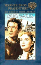 Quo Vadis - German VHS cover (xs thumbnail)
