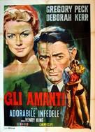 Beloved Infidel - Italian Movie Poster (xs thumbnail)