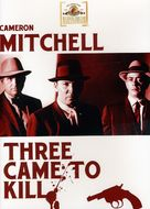 Three Came to Kill - DVD cover (xs thumbnail)