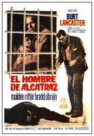 Birdman of Alcatraz - Spanish Movie Poster (xs thumbnail)