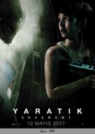 Alien: Covenant - Turkish Movie Poster (xs thumbnail)