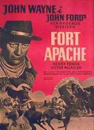 Fort Apache - Danish Movie Poster (xs thumbnail)