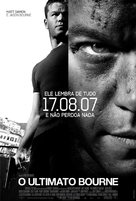 The Bourne Ultimatum - Brazilian poster (xs thumbnail)
