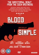 Blood Simple - British DVD movie cover (xs thumbnail)