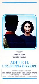 L'histoire d'Adèle H. - Italian Movie Poster (xs thumbnail)